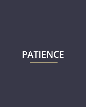 Our Mission - patience