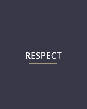 Our Mission - Respect